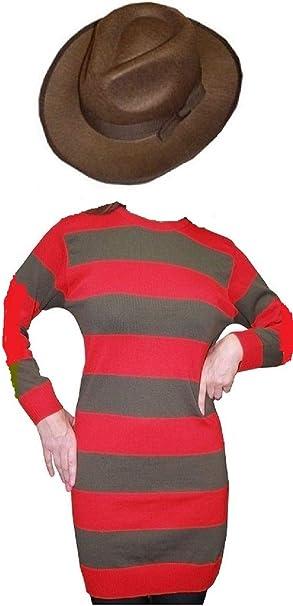 Fashion Oasis Freddy Horror Style - Disfraz para mujer, diseño de ...