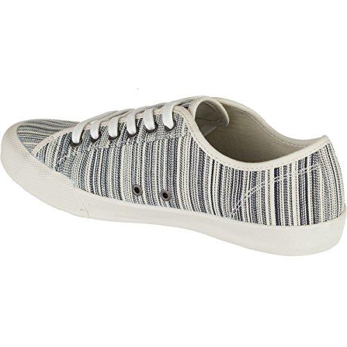 Seavees Womens 06/67 Monterey Beach Club Fashion Sneaker Ingenieur Stripe