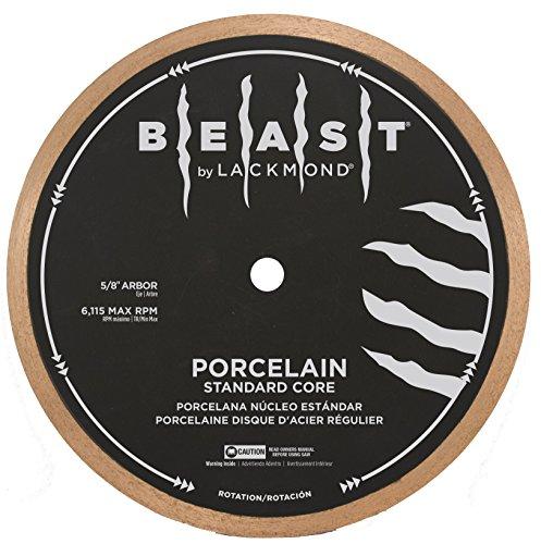 Lackmond Beast Pro Porcelain Standard Core Tile Saw Blade - 10