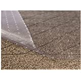 (70cm x 1.8m, Clear - Low Pile) - Sterling Brands Clear Vinyl Plastic Floor Runner/Protector for Low Pile Carpet - Non…