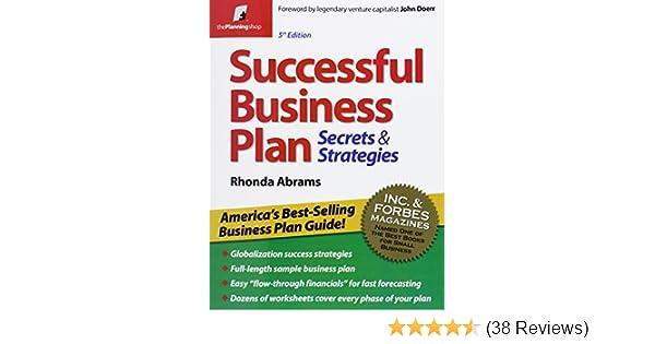 Amazon Successful Business Plan Secrets Strategies