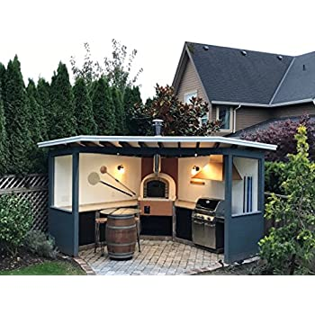 Amazon.com: Brick Pizza Oven, Insulated, Wood Fired ...