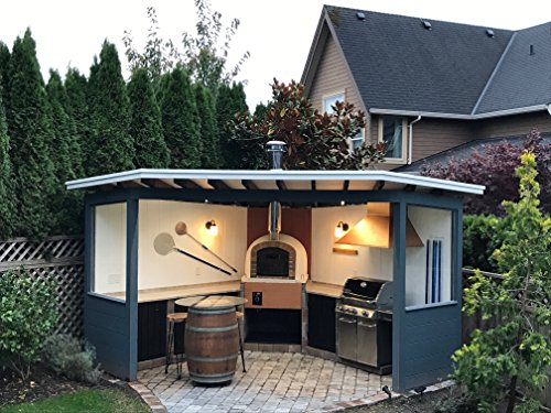 Brick Pizza Oven, Insulated, Wood Fired, Handmade in Portugal, Brick or Stone Face (Other) by My-Barbecue