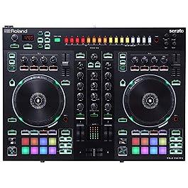 Roland DJ Controller, Two-Channel, Four-Deck (DJ-505)