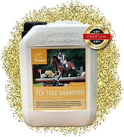 Emma Caballos Champú I Juego de I para caballos y perros con aceite de árbol de té I PH neutro & Mild I 2500 ml