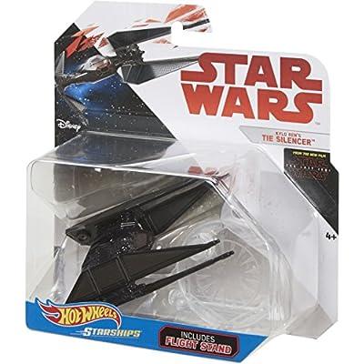 Hot Wheels Star Wars: The Last Jedi Kylo Ren's Tie Silencer Die-Cast Vehicle: Toys & Games