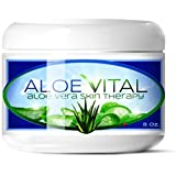 Hawaiian Moon Aloe Cream Best Deals - Proven Daily Aloe Anti-aging Skin Cream for, Oily, Dry or Damaged Skin - Unscented Non-greasy Moisturizer and Healing Cream with Organic and Natural Ingredients.