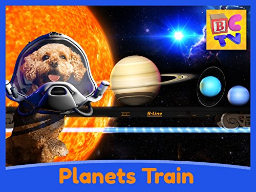 Science for Kids - Learn About the Solar System with the Planets Train!