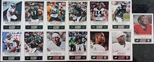 2014 Score Football Philadelphia Eagles Team Set In a Protective Case - 13 Cards Including LeSean McCoy (2), Arrelious Benn, Nick Foles, Ed Reynolds RC, Josh Huff, Jordan Matthews RC, - Shops In Philadelphia