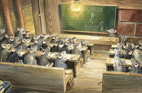 Edison: The Mystery of the Missing Mouse Treasure by NorthSouth Books (Image #1)