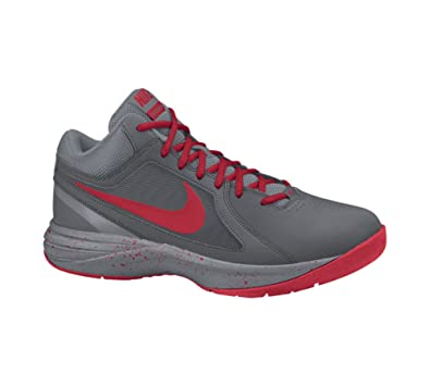 Nike The Air Overplay IX Mens Obsidian/Wolf Grey/White T451591QI Shoes