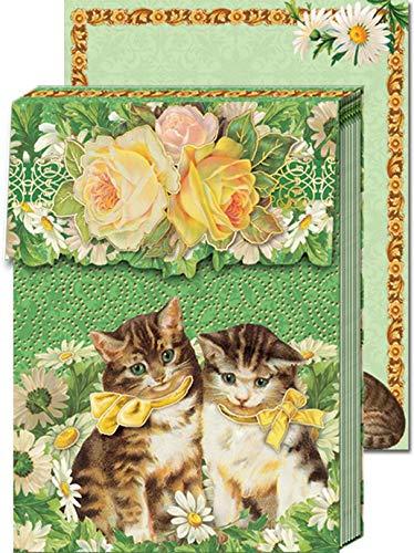 Punch Studio Pocket cuaderno Notes gatos: Amazon.es: Hogar