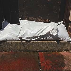 10 x Yuzet tela bolsas de polipropileno inundaciones bolsas de arena