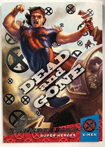 2018 Fleer Ultra X-Men Dead and Gone Silver Foil #DG2 Thunderbird