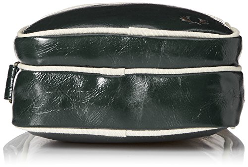 Borsa borsa classica verde Ivy di Fred Perry