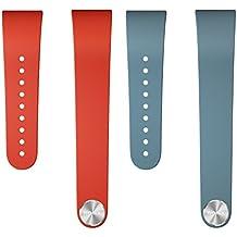 SONY SWR310 SmartBand Talk Wrist Strap Red & Blue for Black Band Large