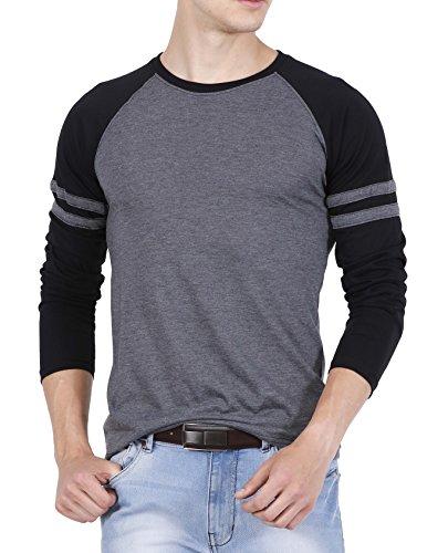 huge sale 50% price shopping fanideaz Cotton Men's Raglan Round Neck Full Sleeve T Shirt for Men