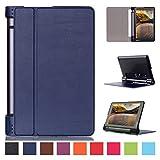Lenovo Yoga Tab 3 8 inch Case,Lenovo Tab 3 8 inch Tablet Cover,lenovo yoga tab 3 8 Tablet Case,Premium Folio Case for Yoga Tab 3 8.0 with Stand-Dark blue