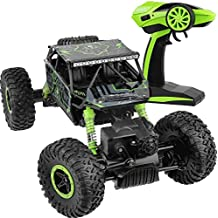 Click N' Play CNP8426 R/C Remote Control 4WD Off Road All-Weather Rock Crawler Vehicle 2.4 GHz., Green