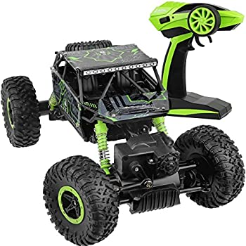 Click N Play Rock Crawler RC Car Green Vehicle