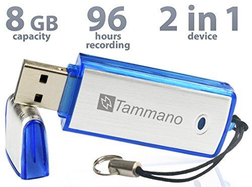 SpyGear-Best Spy USB Sound Recorder - 8GB Voice Recording Device - Hidden  Digital Audio Recorder - No Flashing Light When Recording - Mac/Windows -