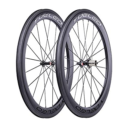 2bf203033 YOELEO Road Bike Wheels SAT C60 STD Clincher Carbon 700C Bicycle Wheelset  for Training and Racing