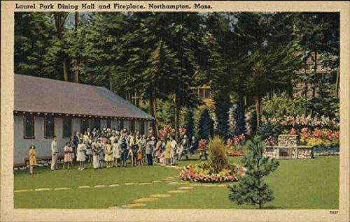 Laurel Park Dining Hall and Fireplace Northampton, Massachusetts Original Vintage - Laurel Park Place