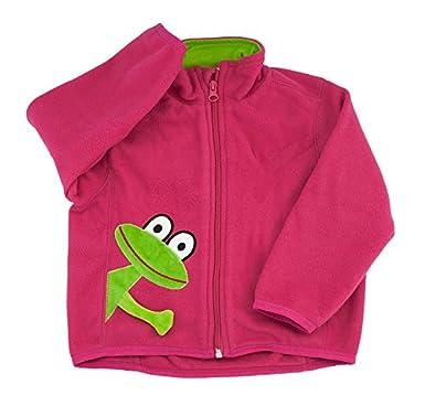 3b6dc61913aab9 LipFish Lipfish Frosch Polar Fleece Jacke Pink cerise frog 3381 in ...