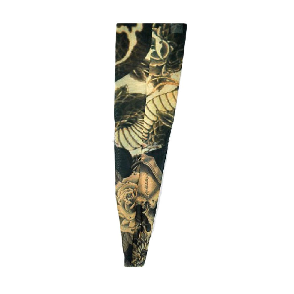 Dragon Tattoo Cycling Arm Warmers Skating Arm Pro Sun Protective Arm Sleeves, M PANDA SUPERSTORE