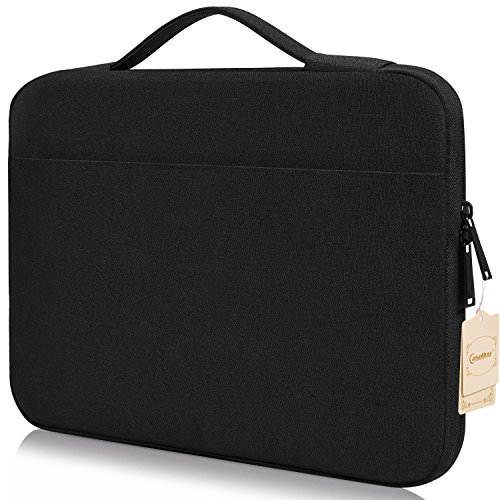 "Price comparison product image Samsung Chromebook Plus/Pro Case, CASEBUY Water Resistant Shockproof Laptop Bag for Acer Chromebook R 11/Samsung Chromebook 3 Handbag for 11"" 12"" Lenovo Dell Toshiba HP ASUS Acer Chromebook, Black"