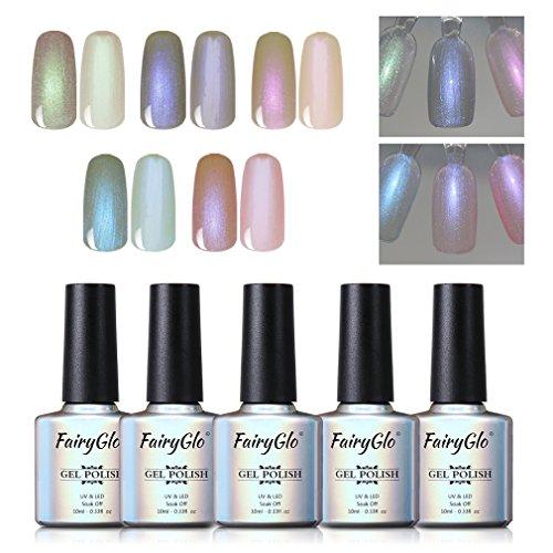 pearl nail polish gel manicure