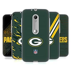 Official NFL Green Bay Packers Logo Soft Gel Case for Motorola Moto G (3rd Gen)