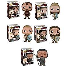 Funko Vikings Seer, Lagertha, Ragnar Lothbrok, Rollo and Floki Pop! Vinyl Figures Set of 5 by Vikings