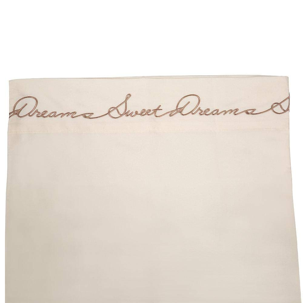 Sam Salem /& Son Sweet Dreams Microfiber Rv Sheet Sets King King Ivory Ivory