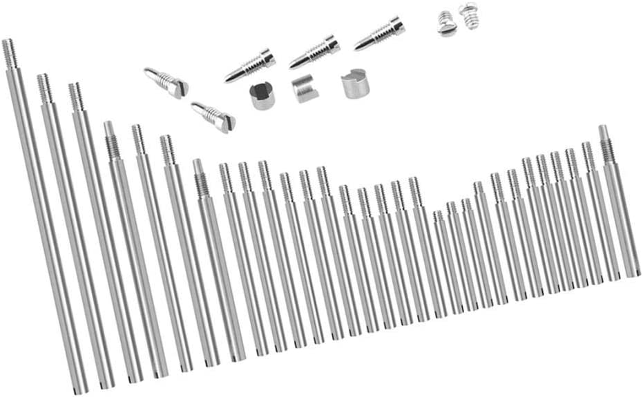 sharprepublic Metal Bassoon Repair Parts Shafts Screw Pad Adjustment Kit For Wind Accs
