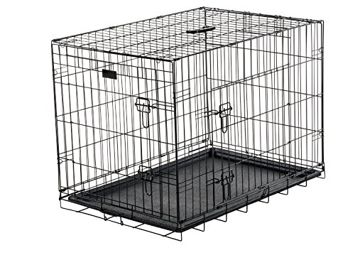 Dog Training Crate Lucky Dog 2 Door Kennel Includes