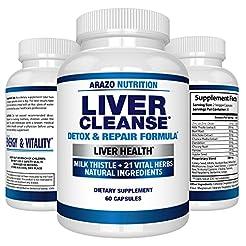 Liver Cleanse Detox & Repair Formula - 2...