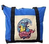 Lunarable Anchor Shoulder Bag, Rubber Duck Sink or Swim, Durable with Zipper