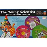 The Young Scientist Series 3 Set Part Science Kit Stars, Planets, Forces Learn Science the easy way out