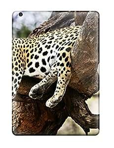 Hard Plastic Ipad Air Case Back Cover,hot Sleeping Cheetah Case At Perfect Diy