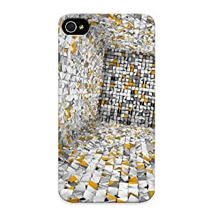 Ba80ce96202 With Unique Design Iphone 4/4s Durable Tpu Case Cover Abstract Background