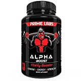 Alpha Boost for Strength and Energy, Male Enhancement Pills that Build Muscle Fast, Boost Libido and Burn Fat