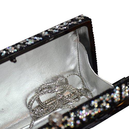 Paquete De Cadenas De Diamantes Para Mujer blackandwhite