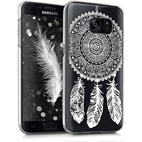 kwmobile Elegant and light weight Crystal Case Design dream catcher for Samsung Galaxy S7 in white transparent Sales