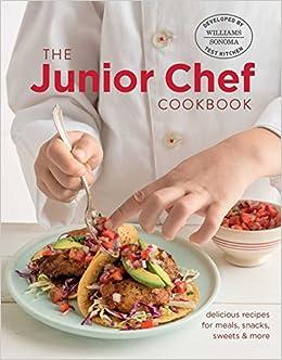 e6fca28167a Amazon.com  Junior Chef Cookbook (9781681880242)  Williams - Sonoma Test  Kitchen  Books