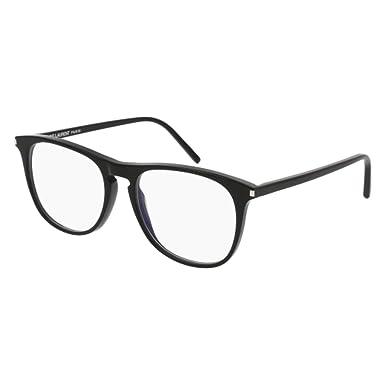 c0ed33b1e86 Image Unavailable. Image not available for. Color  Eyeglasses Saint Laurent  SL 146-001 ...