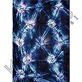 Rayon Sarong Tie-Dye & Paillette Blue