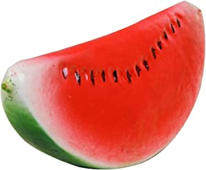 Artificial Fake Fruit Realistic Display Props Kitchen Food Home Decor(Watermelon Piece)