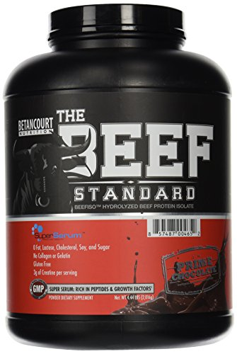 Betancourt Nutrition The Beef Standard, Chocolate, 4 Pound (Pack of 4) by Betancourt Nutrition