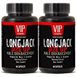 Male enhancing pills increase size and length - LONGJACK SIZE UP (MALE ENHANCEMENT FORMULA) - Maca vitamins for men - 2 Bottles 120 Capsules